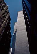 World Trade Center Canyon, New York City, New York, USA, May 1982