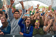 Fans during Macklemore and Ryan Lewis at the 2013 X Games Munich in Munich, Germany. ©Brett Wilhelm