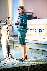 Pictured: UK leader Jo Swinton speaks to the party<br /> The Scottish Liberal Democrats stalwarts gathered today in Dunfermline for their Autumn Conference<br /> <br /> Ger Harley | EEm 11 November 2017