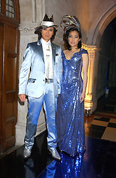 ANDY & PATTI WONG at their annual Chinese New Year party, this year celebrating the year of the dog held at The Royal Courts of Justice, The Strand, London WC2 on 28th January 2006.<br /><br />NON EXCLUSIVE - WORLD RIGHTS