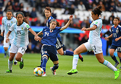 I Hasegawa during the FIFA Women's World Cup group D first round soccer match between Argentina and Japan at Parc des Princes Stadium in Paris, France on June 10, 2019. The FIFA Women's World Cup France 2019 will take place in France from 7 June until 7 July 2019. Photo by Christian Liewig/ABACAPRESS.COM