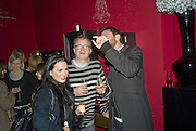 Amelia Powers, Harry Enfield and Adrian Forster, SOLANGE AZAGURY-PARTRIDGE  launches her new diamond collection PLATONIC and second perfume COSMIC at her shop 187 Westbourne Grove, London.  W11 13 November 2007. -DO NOT ARCHIVE-© Copyright Photograph by Dafydd Jones. 248 Clapham Rd. London SW9 0PZ. Tel 0207 820 0771. www.dafjones.com.