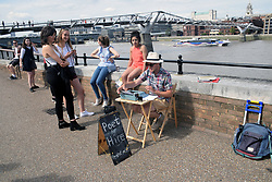 Poet for Hire, South Bank, London UK
