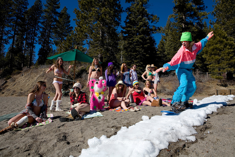 Snowboarding into Lake Tahoe - Dane Shannon