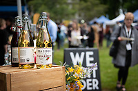 The Greater Victoria Chamber of Commerce hosts YYJ Eats in the gardens of St. Ann's Academy and features tasty bites from local restaurants and drinks from beverage producers.