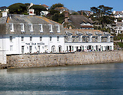 The Idle Rocks hotel, St Mawes, Cornwall, England, UK