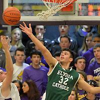 2.6.2015 Elyria Catholic at Avon Boys Varsity Basketball