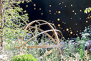 The  Vital Earth The Night Sky garden by young designers David (23,) and Harry Rich (26). The Chelsea Flower Show 2014. The Royal Hospital, Chelsea, London, UK