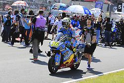 May 20, 2018 - Le Mans, France - 36 JOAN MIR (ESP) EG 0,0 MARC VDS (BEL) KALEX MOTO2 (Credit Image: © Panoramic via ZUMA Press)