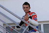 20091003: ESTORIL, PORTUGAL - Moto GP 2009 - Portugal Grand Prix: Qualifying. In picture: Hector BARBERA - 250cc. PHOTO: Alvaro Isidoro/CITYFILES