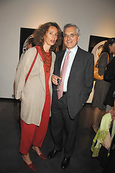 MASSIMO & ILARIA TOSATO at a private view of Guido Mocafico's work entitled Movement held at the Hamilton Gallery, Carlos Place, London on 1st May 2007.<br /><br />NON EXCLUSIVE - WORLD RIGHTS