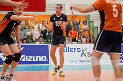 24-09-2016 NED: EK Kwalificatie Nederland - Wit Rusland, Koog aan de Zaan<br /> Nederland wint na een 2-0 achterstand in sets met 3-2 / Wouter ter Maat #16