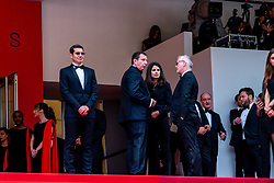 L-R : Cannes Mayor David Lisnard, Pierre Botton, his girlfriend Patricia, Thierry Fremaux attend the opening ceremony and screening of The Dead Don't Die during the 72nd Cannes Film Festival on May 14, 2019 in Cannes, France. Photo by Ammar Abd Rabbo/ABACAPRESS.COM