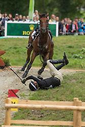 Mark Todd, (NZL), Leonidas II - Eventing Cross - Alltech FEI World Equestrian Games™ 2014 - Normandy, France.<br /> © Hippo Foto Team - Dirk Caremans