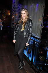 AMBER LE BON at the ZEO 'Just January' Party held at the Buddha Bar, 145 Knightsbridge, London SW1 on 31st January 2013.
