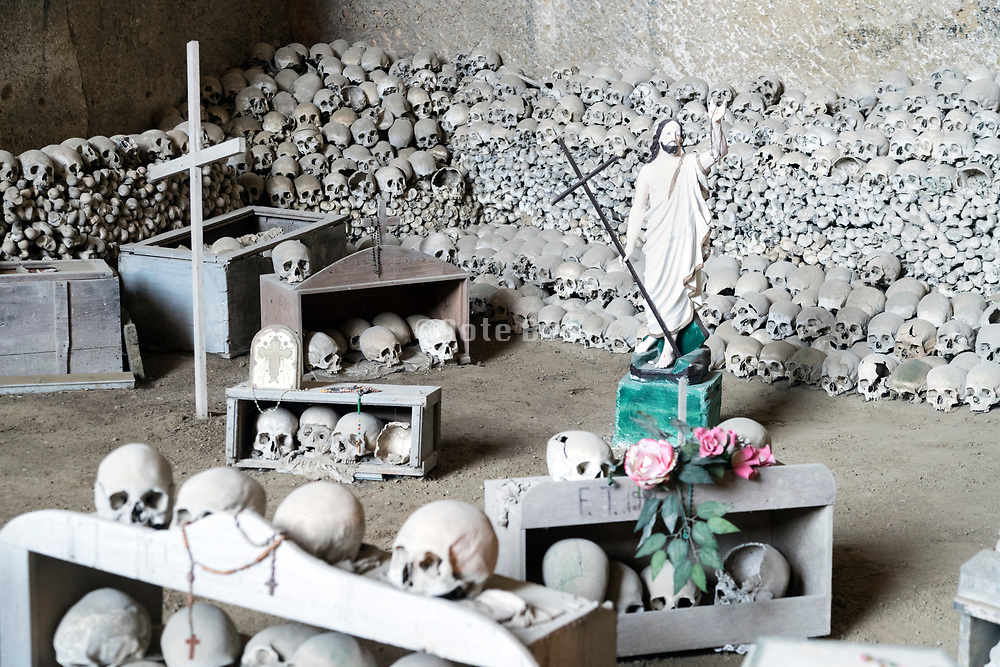 Fontanelle cemetery in Napels Italy