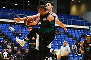 Auckland Super City Rangers Clayton Wilson in action during a match against the Taylor Hawks.<br /> Super City Rangers v Taylor Hawks, NBL NZ, Trusts Arena, Auckland, New Zealand. 7 July 2018. © Copyright Image: Marc Shannon / www.photosport.nz.