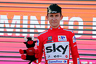 Podium, Michal Kwiatkowski (POL - Team Sky) Red jersey, during the UCI World Tour, Tour of Spain (Vuelta) 2018, Stage 2, Marbella - Caminito del Rey 163.5 km in Spain, on August 26th, 2018 - Photo Luis angel Gomez / BettiniPhoto / ProSportsImages / DPPI