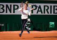 Marie Bouzkova of the Czech Republic during practice ahead of the Roland-Garros 2021, Grand Slam tennis tournament, Qualifying, on May 28, 2021 at Roland-Garros stadium in Paris, France - Photo Rob Prange / Spain ProSportsImages / DPPI / ProSportsImages / DPPI