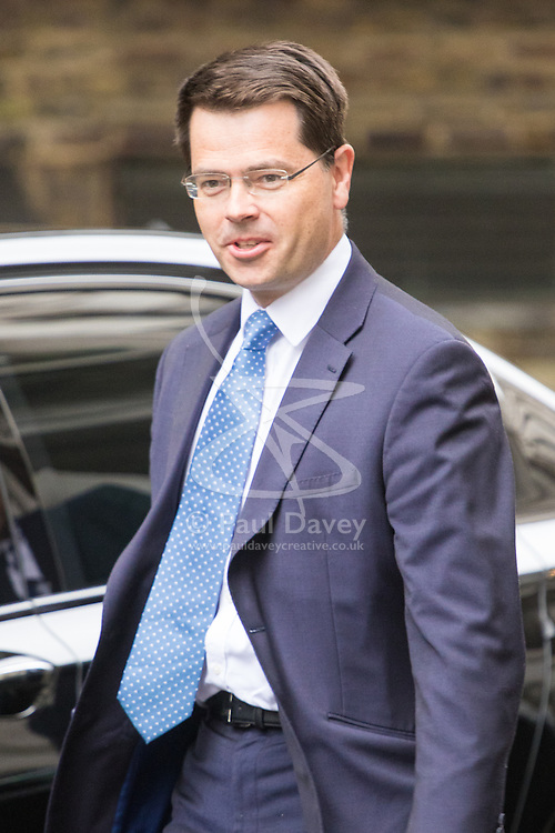 Downing Street, London, September 9th 2016.  Northern Ireland Secretary James Brokenshire arrives at Downing street for the weekly cabinet meeting following the Parliamentary summer recess.