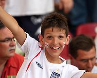 Photo: Chris Ratcliffe.<br /> England v Ecuador. 2nd Round, FIFA World Cup 2006. 25/06/2006.<br /> Fan of England.