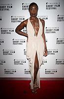 Adele Oni at the TriForce Short Film Festival gala ceremony, BFI Southbank, London, UK - 30 Nov 2019