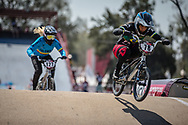 #78 (REIS SANTOS Paola) BRA during practice at Round 9 of the 2019 UCI BMX Supercross World Cup in Santiago del Estero, Argentina