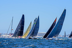 17 December 2016<br /> Maserati Cape Town Race Week 2016, #CTRW2016.<br /> Race 3 (Day Race). Competing racing yachts<br /> Photograph by Alec Smith/ImageMundi.com