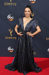 Constance Wu arriving for The 68th Emmy Awards at the Microsoft Theater, LA Live, Los Angeles, 18th September 2016.