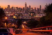 San Francisco Skyline, Dazzling Dusk
