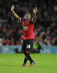 Manchester United's Anderson - Photo mandatory by-line: Joe Meredith/JMP - Mobile: 07966 386802 26/08/2014 - SPORT - FOOTBALL - Milton Keynes - Stadium MK - Milton Keynes Dons v Manchester United - Capital One Cup