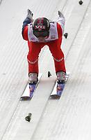 Hopp<br /> FIS World Cup<br /> Innsbruck Østerrike<br /> 03.01.2013<br /> Foto: Gepa/Digitalsport<br /> NORWAY ONLY<br /> <br /> FIS Weltcup der Herren, Vierschanzen-Tournee, Training und Qualifikation. <br /> <br /> Bild zeigt Anders Jacobsen (NOR).