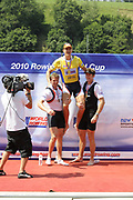 Lucerne, Switzerland.  2010 FISA World Cup. Lake Rotsee, Lucerne.  13:59:19   Sunday  11/07/2010.  [Mandatory Credit Peter Spurrier/ Intersport Images]