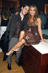 BRUCE WILPON and his wife  YUKI OSHIMA-WILPON at the Myla Debutantes Coming-Out show held at The Porchester Hall, Porchester Road, London on 31st January 2006.<br /><br />NON EXCLUSIVE - WORLD RIGHTS