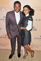 (L-R) Anthony Anderson and Yara Shahidi arrives at Step Up's 14th Annual Inspiration Awards held athe Beverly Hilton in Beverly Hills, CA on Friday, June 2, 2017. (Photo By Sthanlee B. Mirador) *** Please Use Credit from Credit Field ***