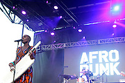 """August 27, 2016- Brooklyn, New York-United States: Recording Artist Laura Mvula performs at the 2016 AfroPunk Brooklyn Concert Series held at Commodore Barry Park on August 27, 2016 in Brooklyn, New York City. Described by some as """"the most multicultural festival in the US,"""" which includes an eclectic line-up and an audience as diverse as the acts they come to see.  (Photo by Terrence Jennings/terrencejennings.com)"""