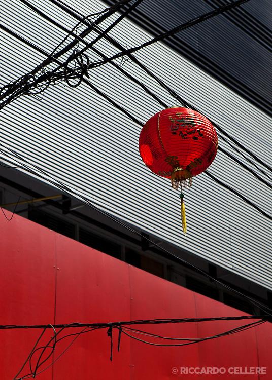 Lantern in Bangkok's Chinatown