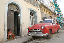 November 27, 2016 - Havana, Cuba - A scene from a daily life in Havana on November 27, 2016, the second day after Fidel Castro, Cuba's historic revolutionary leader, and the former Prime Minister and President of Cuba, dies on the late night of November 25, 2016, at age of 90. . Fidel Castro died aged 90. One of the world's longest-serving rulers and modern history's most singular characters, Castro defied 11 US administrations and hundreds of assassination attempts..On Sunday, 26 November 2016, in Havana, Cuba. (Credit Image: © Artur Widak/NurPhoto via ZUMA Press)