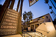 Pasadena Playhouse State Theatre of California, Playhouse District, Pasadena, Los Angeles County, California, USA