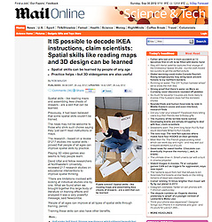 Mail Online; Woman assembling IKEA  flatpack furniture