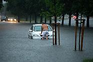 Białystok pod wodą po ulewie - 1.07.2021