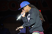 Lil Wayne performs at the Bamboozle Music Festival. Meadowlands Sports Complex, East Rutherford, NJ.  May 1, 2011. Copyright © 2011 Todd Owyoung.