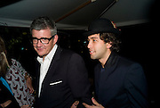 JAY JOPLING; ALEXANDER DEXTER-JONES, Party hosted by Franca Sozzani and Remo Ruffini in honour of Bruce Weber to celebrate L'Uomo Vogue The Miami issuel by Bruce Weber. Casa Tua. James Avenue. Miami Beach. 5 December 2008 *** Local Caption *** -DO NOT ARCHIVE-© Copyright Photograph by Dafydd Jones. 248 Clapham Rd. London SW9 0PZ. Tel 0207 820 0771. www.dafjones.com.