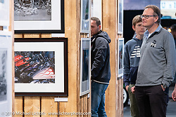 Display of Michael LIchter's limited edition photographs organized by the promoters of the Swiss-Moto Customizing and Tuning Show. Zurich, Switzerland. Sunday, February 24, 2019. Photography ©2019 Michael Lichter.