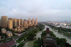 July 3, 2018 - Huai'An, Huai'an, China - Huai'an, CHINA-Aerial photography of Inner Canal Scenic Area in Huai'an, east China's Jiangsu Province. (Credit Image: © SIPA Asia via ZUMA Wire)