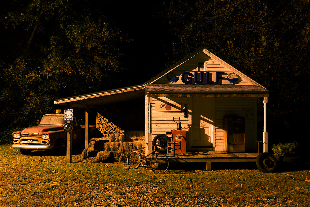 Country Scene. Nicholas County, West Virginia.