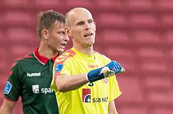 Andreas Hansen (AaB) under kampen i 3F Superligaen mellem FC København og AaB den 17. juni 2020 i Telia Parken, København (Foto: Claus Birch).