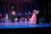 Dance Wisconsin rehearses the Nutcracker. Ballet at the Wisconsin Union Theater in Madison, Wisconsin on December 15, 2017.