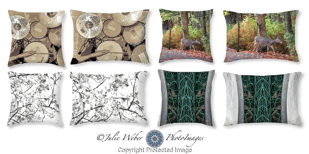 Piillow Showcase 1  - Shop here: https://2-julie-weber.pixels.com/shop/throw+pillows