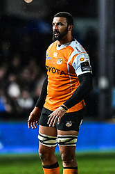 Cheetahs' Uzair Cassiem<br /> <br /> Photographer Craig Thomas/Replay Images<br /> <br /> Guinness PRO14 Round 18 - Dragons v Cheetahs - Friday 23rd March 2018 - Rodney Parade - Newport<br /> <br /> World Copyright © Replay Images . All rights reserved. info@replayimages.co.uk - http://replayimages.co.uk
